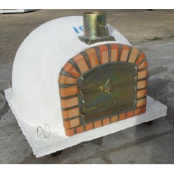 CUSTOM MADE CLAY OVEN WITH CHIMNEY - (100 cm x 100 cm)