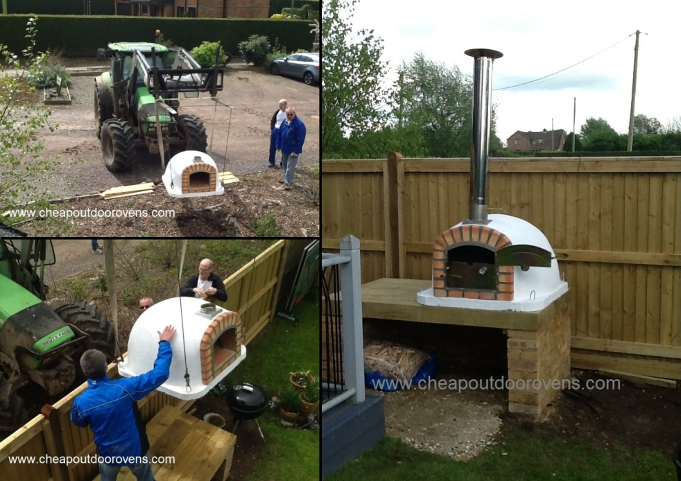 happy cob oven customer