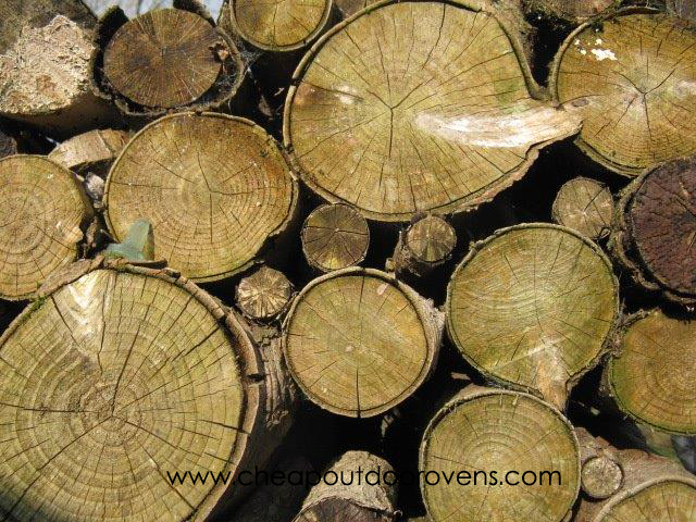 wood for clay pizza ovens