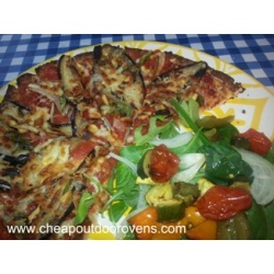 Cauliflower pizza base - 'The' low carbohydrate and gluten free pizza base